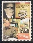 Stamps Peru -  Gustavo Ponz Musso 1916 - 2008