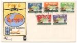 Stamps Peru -  Vuelo Inaugural de APSA