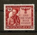 Sellos de Europa - Alemania -  20 Aniversario de la Sublevacion Nacional-Socialista