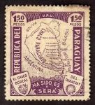 Sellos de America - Paraguay -  U.P.U. El chaco boreal