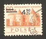 Stamps Poland -  VII centº de varsovia, un castillo