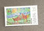 Stamps Asia - Armenia -  Pintura naif