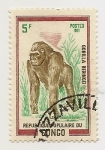 Stamps Republic of the Congo -  Fauna-Gorila