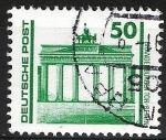 Sellos de Europa - Alemania -  Puerta de Bradenburg, Berlín