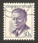 Stamps Czechoslovakia -  antonin novotny, político