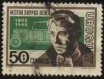 Sellos de America - Uruguay -  Héctor Suppici Sedes 1903 - 1948.  Destacado piloto uruguayo único extranjero que ha ganado un Gran