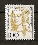 Stamps Germany -  (RFA) Serie Basica / Luise Henriette von Oranien