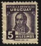 Stamps Uruguay -  Santiago Vázquez. Miembro de la Asamblea General Constituyente y Legislativa del Estado que redactó