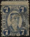 Stamps Uruguay -  Joaquín Suárez. 1781-1868. Político y Presidente interino de la República.