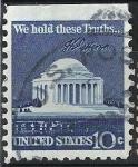 Stamps United States -  Capitolio.