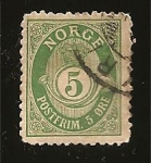 Stamps Europe - Norway -  correo terrestre