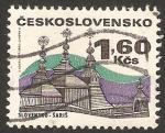 Stamps Czechoslovakia -  iglesia de saris