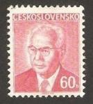 Sellos del Mundo : Europa : Checoslovaquia : 2135 - Presidente Gustav Husak
