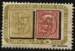 Stamps Uruguay -  100 años de los sellos cifras en Uruguay.