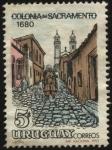 Stamps America - Uruguay -  Antigua ciudad de la Colonia del Sacramento, fundada en el año 1680 por los portugueses.