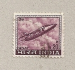 Sellos de Asia - India -  Cohete