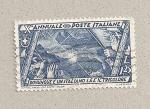 Sellos de Europa - Italia -  Donde hay un italiano hay una bandera tricolor