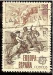 Sellos de Europa - España -  Europa-CEPT. Correo de gabinete y postillón