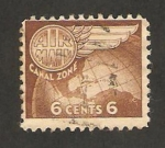 Stamps : America : Panama :  canal zone