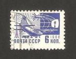 Stamps Russia -  3373 - Avión