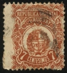 Stamps Uruguay -  Escudo Nacional.