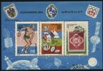 Sellos de America - Uruguay -  Serie por conmemoración de los 1000 años de Austria.