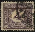 Sellos del Mundo : America : Uruguay : Timbre tasa. 1902 4 centésimos