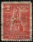 Sellos de America - Uruguay -  100 años del nacimiento de José Pedro Varela. Educación pública, laica y obligatoria.