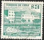Stamps Chile -  4° CENTENARIO FUNDACION DE VALDIVIA