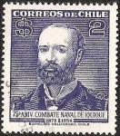 Sellos del Mundo : America : Chile : 75° ANIVERSARION COMBATE NAVAL DE IQUIQUE
