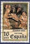 Sellos de Europa - España -  Edifil 2729 Navidad 1983 16 defecto