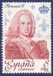 Stamps Spain -  Edifil 2498 Fernando VI 8