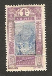 Stamps : Africa : Guinea :  cruzando el río
