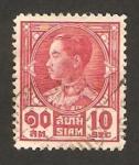 Sellos de Asia - Tailandia -  Rey Prajadhipok