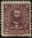 Sellos de America - Uruguay -  Dr. Eduardo Acevedo 1857 - 1948. Abogado, historiador y político.