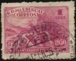 Sellos de America - Uruguay -  200 años de la creación del límite militar llamado