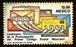 Stamps America - Mexico -  Centenario de la Promulgación del Primer Código Postal Mexicano