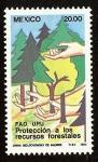 Stamps America - Mexico -  Protección a los recursos forestales