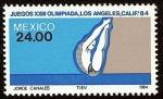 Stamps Mexico -  Juegos Olímpicos XXIII, Verano, Los Ángeles 1984 -- Clavados