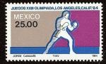 Stamps Mexico -  Juegos Olímpicos XXIII, Verano, Los Ángeles 1984 -- Boxeo