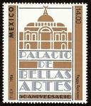 Stamps : America : Mexico :  50 Aniversario del Palacio de Bellas Artes