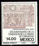 Stamps : America : Mexico :  275 Aniversario de la Fundación de la Ciudad de Chihuahua