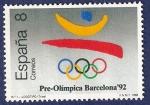Stamps Spain -  Edifil 2963 Barcelona pre-olímpica 8