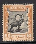 Sellos del Mundo : Africa : Sudán : Cabra montés de Nubia