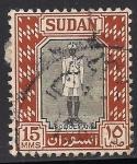 Sellos de Africa - Sudán -  Policia de Sudán.