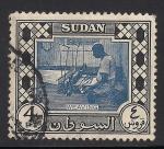 Sellos del Mundo : Africa : Sudán : Tejedor.