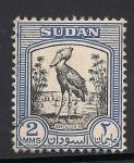 Stamps Africa - Sudan -  Pico zapato