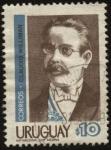 Stamps Uruguay -  Claudio Williman 1861 - 1934, abogado, docente y político uruguayo. Presidente de la República 1907