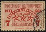 Stamps Uruguay -  31 de marzo de 1933. Tercera República.