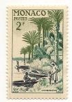 Stamps Monaco -   Albert Schweitzer (Embarcadero de Lambarené)